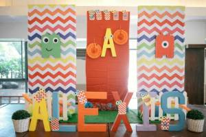 Alexis' Cute Monster Themed Party – 1st Birthday