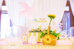 "Lia's ""You are My Sunshine"" Themed Party – 1st Birthday"