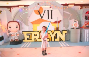 Erlyn's Star Wars-Themed Party – 7th Birthday