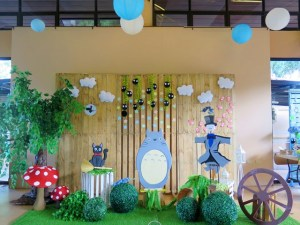 Sophie and Ethan's Studio Ghibli Themed Party