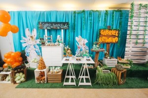 Gabriel's The Tale of Peter Rabbit Themed Baptismal Celebration
