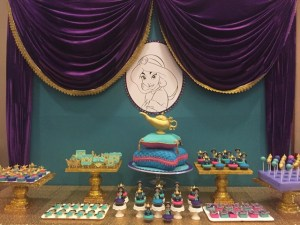 Genie's Princess Jasmine of Disney Aladdin Themed Party – 1st Birthday