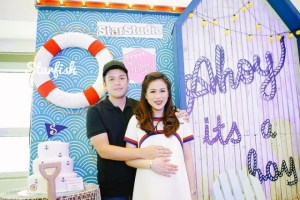 Toni Gonzaga Soriano's Nautical Themed Baby Shower