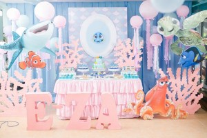 E-za's Finding Dory Themed Party – 1st Birthday