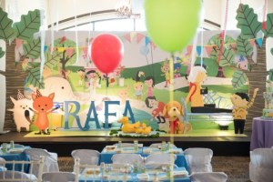 Rafa's Fun Day at the Park Themed Party – 1st Birthday