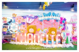 Chanelle's Bear-y Carnival Themed Party – 1st birthday
