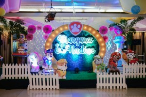 Margaux and Nadine's Paw Patrol Party