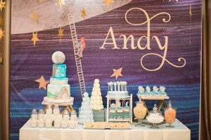 "Andy's ""Papa, please get the moon for me"" Themed Party – 1st Birthday"