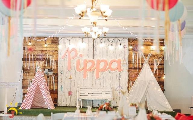 Pippa's Coachella Themed Party – 1st Birthday