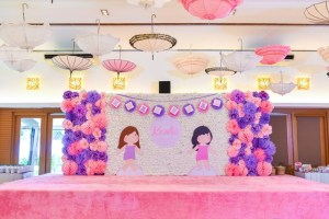 Karlie's Paper Dolls Themed Party – 1st Birthday