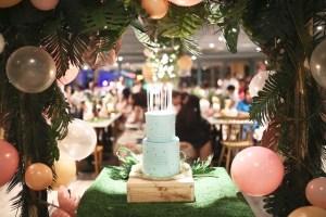 Trish's Intimate Tropical Chic Birthday Dinner – 18th Birthday
