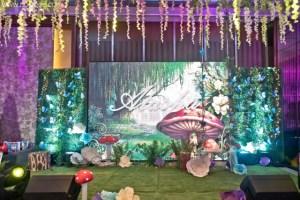 Atasha's Enchanted Garden Themed Party – 1st Birthday