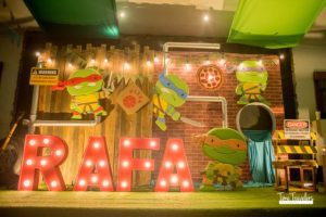 Rafa's Teenage Mutant Ninja Turtles Themed Party – 1st Birthday