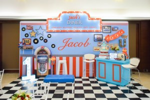 Jacob's 50's Diner Themed Party – 1st Birthday