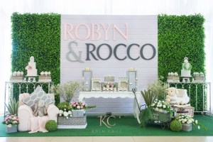 Robyn and Rocco's Sweet Little Lamb and Rabbit Themed Party -1st Birthday