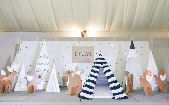 Dylan's Scandinavian Woodland Themed Party – 1st Birthday