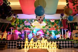 Martina's Alice in Wonderland Themed Party – 1st Birthday