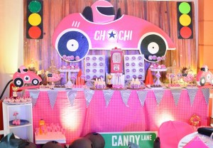 Chachi's Girly Race Car Themed Party – 7th Birthday