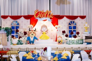 Estella's Beauty and the Beast Themed Party – 1st Birthday