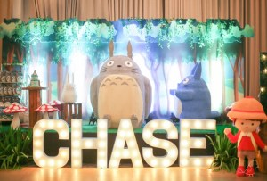 Chase's My Neighbor Totoro Themed Party – 1st Birthday