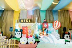 Mica's Around the World with Tsum Tsum Themed Party – 1st Birthday
