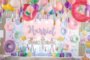 Harriet's Chic Donut Theme Party – 1st Birthday