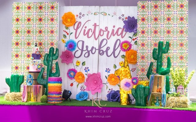 Victoria's Mexican Fiesta Themed Party – 1st Birthday