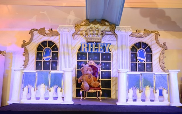 Riley's Royal Prince Themed Party – 1st Birthday