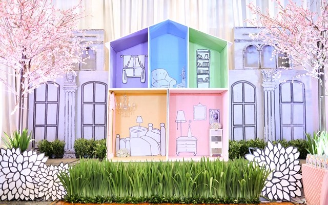 Aria's Darling Dollhouse Themed Party – 1st Birthday