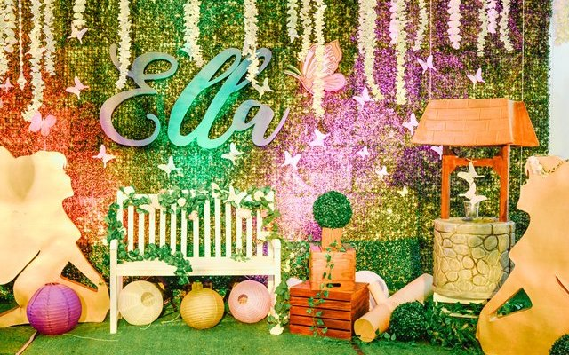 Ella's Enchanted Forest Themed Party – 1st Birthday