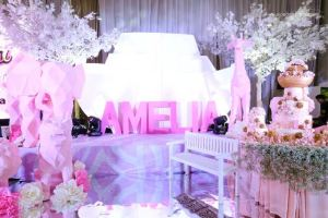 Amelia's Chic Noah's Ark Themed Party – 1st Birthday