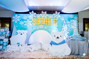 Sedric's Snow Bear Wonderland Themed Party – 1st Birthday