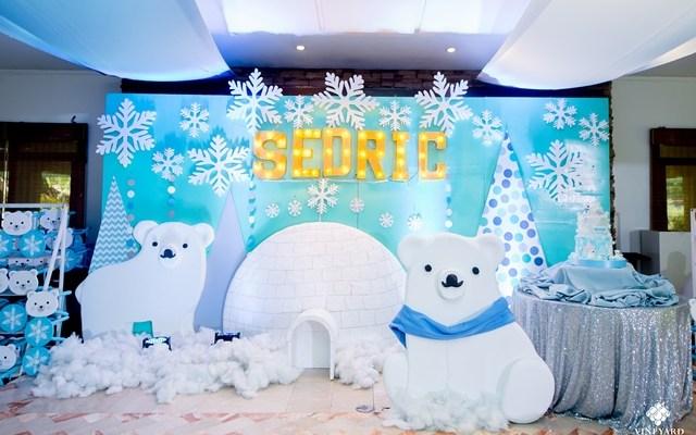 Sedric's Snow Bear Wonderland Themed Party – 1st Birthday