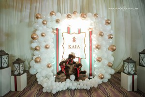 Kaia's Gucci Teddy Bear Themed Baptismal Celebration