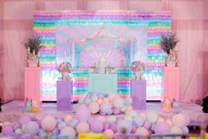 Jilliane's Girly Carnival Themed Party – 1st Birthday