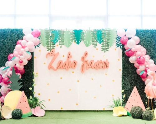 Zadie's Dainty Flamingo Themed Party – 1st Birthday