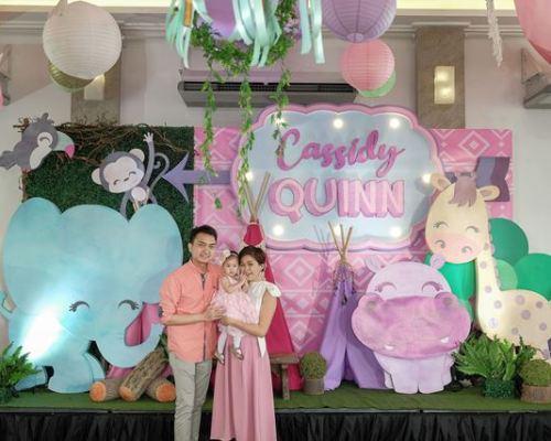 Quinn's Boho Chic Pastel Safari Themed Party – 1st Birthday