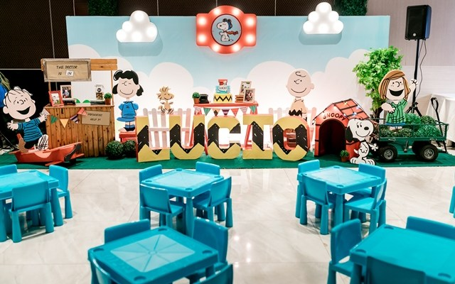 Lucio's Supremely Superb Snoopy Themed Party – 1st Birthday