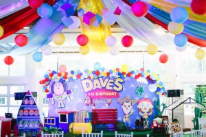 Dave's Toy Story Themed Party – 1st Birthday