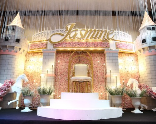 Jasmine's Enchanting Royal Ball – 7th Birthday