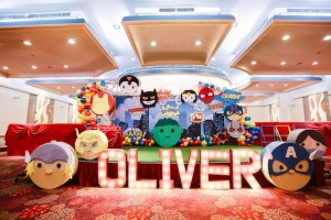 Oliver's Tsum Tsum Superheroes Themed Party – 1st Birthday