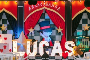 Lucas' Little Magician Themed Party – 7th Birthday