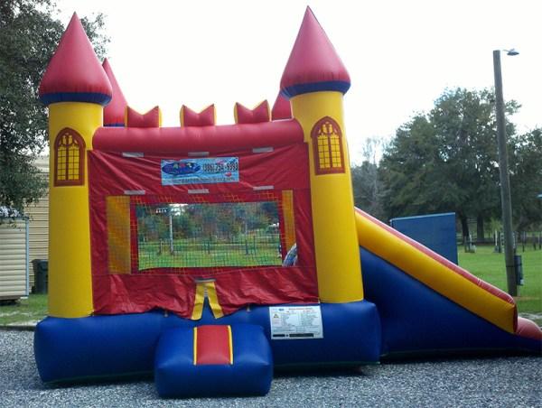 2-In-1 Majestic Castle Combo