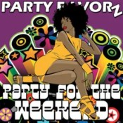 Black Funky Girl, Funky background, disco music