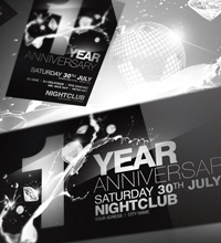 White Affair Party Flyer - 24