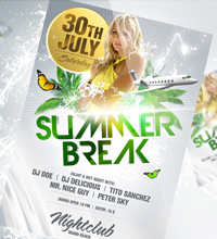 White Affair Party Flyer - 18