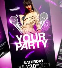 White Affair Party Flyer - 25