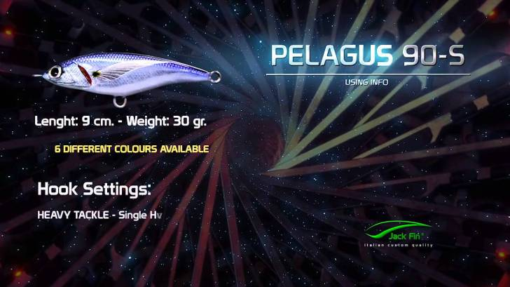 Jack-Fin-PELAGUS-90-S-action-video