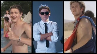 Niall-being-Niall-in-music-videos