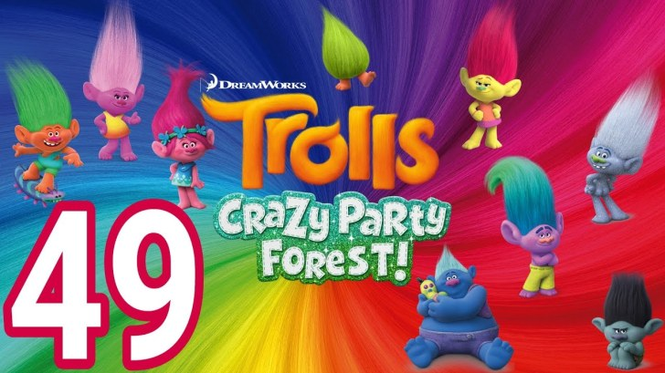 Trolls-Crazy-Party-Forest-49-level-38-39-EXPAND-POD-and-SMOOVE-AndroidIOS-gameplay